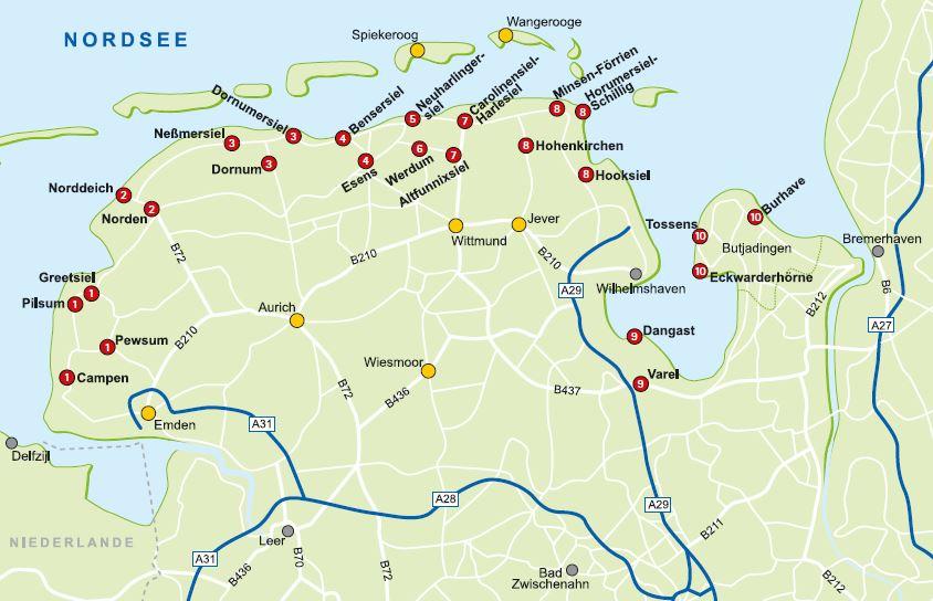 Die Nordsee-Servicard gilt in